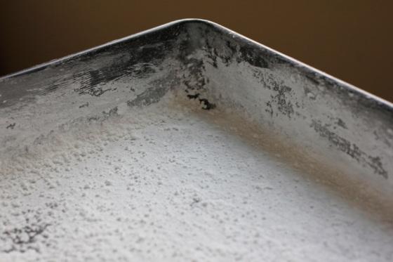 Marshmallow Pan Prep