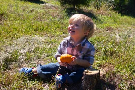 Mommy's favorite pumpkin